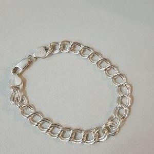 MJI Italian Sterling Silver Bracelet